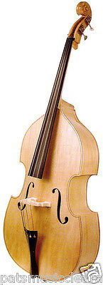 Brand New Stentor 3/4 Size Rockabilly Double Bass with Gig Bag & Bow in Natural