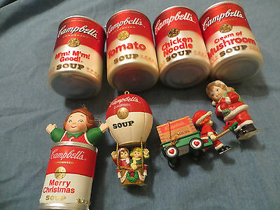 Campbells Soup Christmas Ornaments