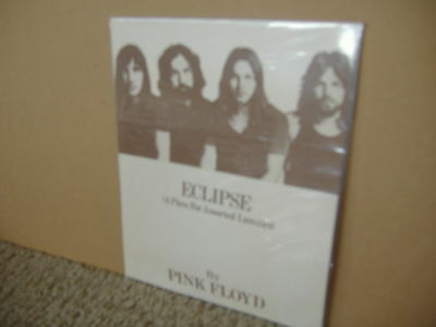 Pink Floyd  Eclipse A Piece For Assorted Lunatics  Dsom 1972 Ultra Rare Promo