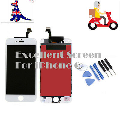 """For iPhone 6 4.7"""" Screen LCD Touch Assembly Display Digitizer Replacement White"""