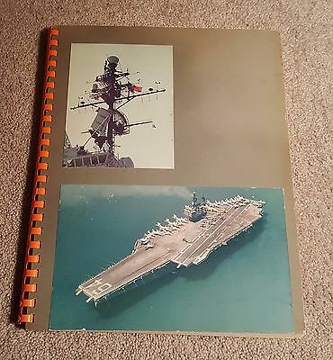 Photograph Book 1963 USS Constellation with Chiang Kai-Shek & T.H. Moorer China