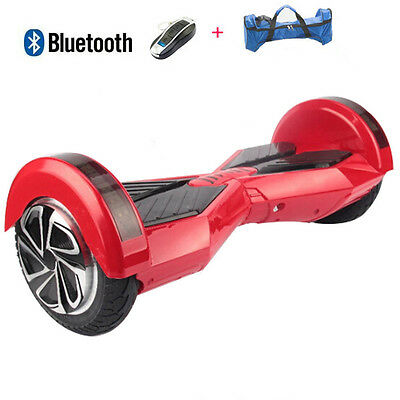 """8""""overboard Gyropode Bluetooth Skateboard Electrique Scooter Self Balancing"""