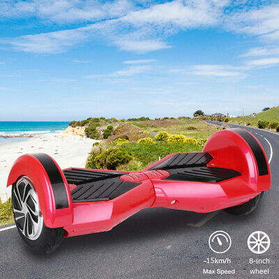 "Gyropode BatterieSamsung 8""overboard Bluetooth Self Balancing Electrique Scooter"