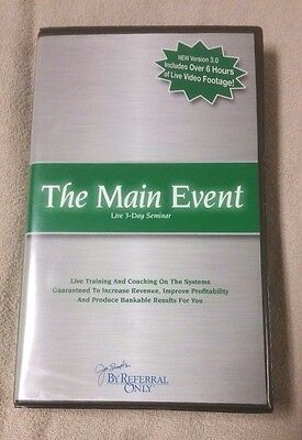 BY REFERRAL ONLY The Main Event JOE STUMPF 24 CD Set Real Estate Business MINT