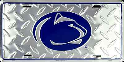 Penn State Car Truck Tag Diamond License Plate Metal Penn St Nittany Lions Sign