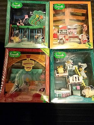 Huge Lot Mib Nrfb Mattel Furryville Playsets Good 4 Sylvanian Calico Critters