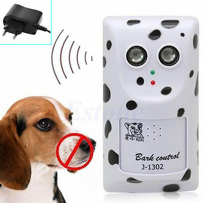 Ultrasonic No Bark Control Anti Deterrent Stop Dog Barking Silencers