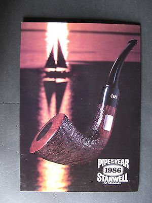 Stanwell Pipe Of The Year 1986 Counter Sign