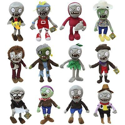 Soft Doll PLANTS vs. ZOMBIES Plush Toy Cute Doll 30cm Kids Birthday Gifts Dolls