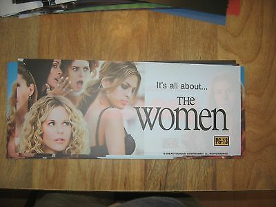 Theater Marquee Mylar The Women
