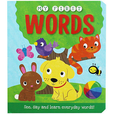 My First Words (Board Book), Children's Books, Brand New