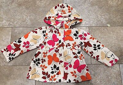 GAP Coat Lovely Soft Cord Age 5  With Warm LINING Detachable Hood Beautiful Cond