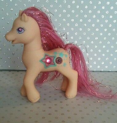 My little pony G2 Princess Twinkle Star Tender light up families .