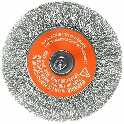 Black & Decker 70-603 1/4-Inch Crimped Wire Wheel Coarse Shank, 3-Inch