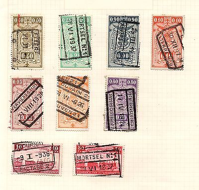 Stamps from Belgium 1920's & 30's