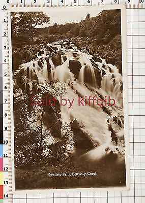 Swallow Falls Betws-y-Coed postcard local publisher