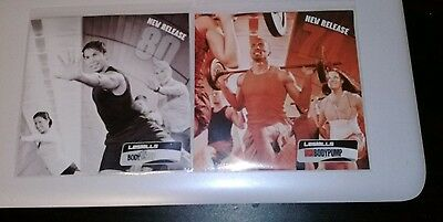 Les Mills Body Pump 74 & Body Step 80 CD only