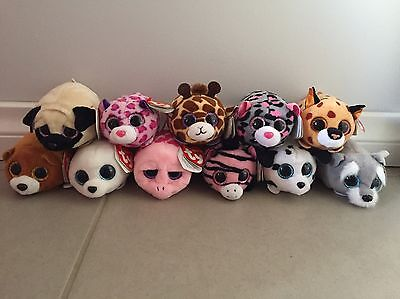 Teeny Tys- New With Tags- Ty Plush