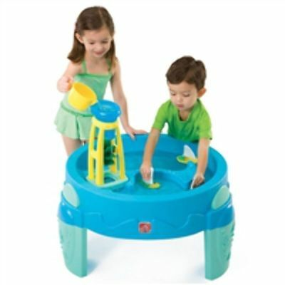 NEW Step 2 Waterwheel Play Table