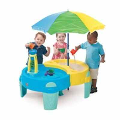 NEW Step 2 Shady Oasis Sand & Water Play Table