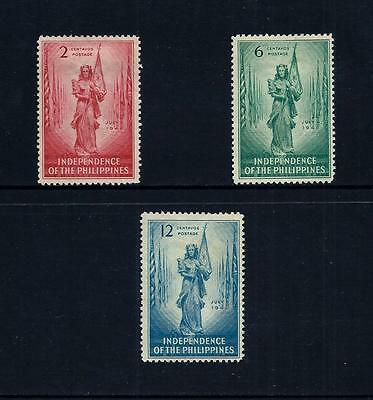 PHILIPPINES _ 1946 'INDEPENDENCE' SET of 3 _ mh ____(455)