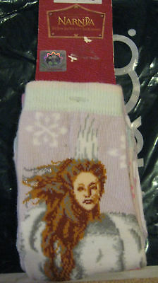 New Girls Clothes Age 2-3-4 Narnia  2 Pairs Socks Shoe Size 6 - 8 1/2 New