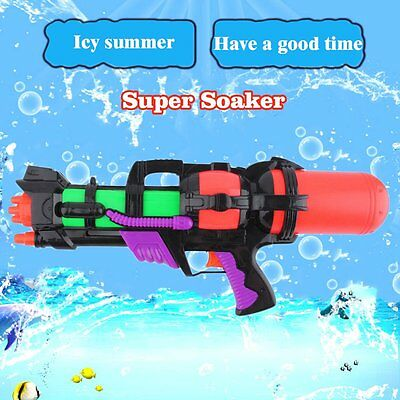 Kids' Super Soaker Shooter Water Gun Powerful Pistol Squirt Gun Large Capacity
