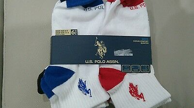 New unwanted boys US Polo socks 6 pairs