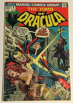 Tomb of Dracula #9 (Jun 1973, Marvel) VG Condition