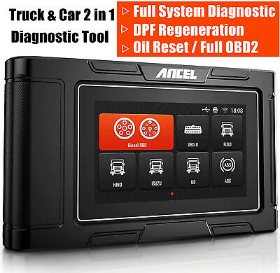 Foxwell NT624 All System ABS Airbag SRS Transmission Oil EPB OBDII Code Reader