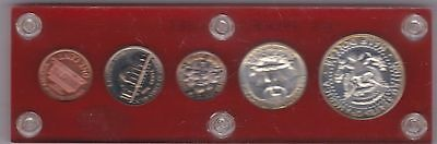 Usa 1964 Five Coin Set In Mint Condition
