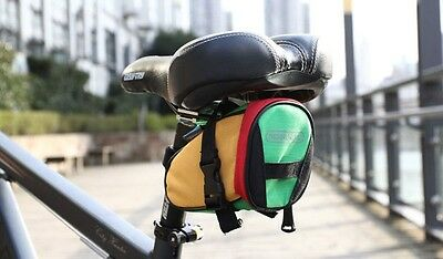 Waterproof Cycling Saddle Bag Bicycle Seat Pouch Bike Rear Tail Saddle Bags