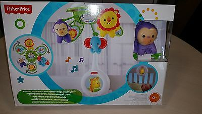 Fisher Price Rainforest Friends Deluxe Musical Mobile