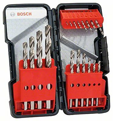 Bosch Metallbohrer-Set HSS-G 18-tlg. 1-10mm 135° in Tough Box