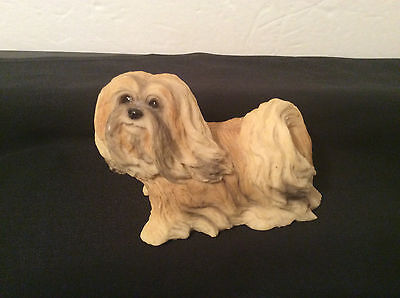 Collectible Stone Critter SC-1205, Lhasa Apso, 3x4