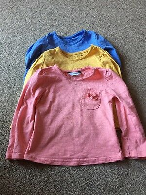 Baby Girl 12-18 Months Long Sleeve Tops