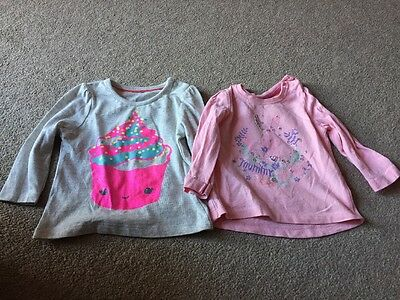Baby Girl 3-6 Months Long Sleeve Tops