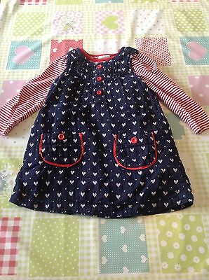 Mini Club Dress And Top 12-18 Months