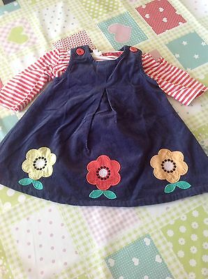 Bluezoo Pinafore Dress And Top 0-3 Months