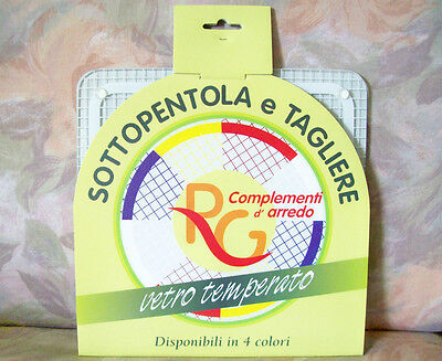 Tagliere & Sottopentola Italy Cutting Edge Casserole Standing Bianco White