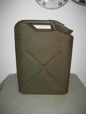 Vintage U.s. Jerry Can - W 44 Cavalier - Army Water Can