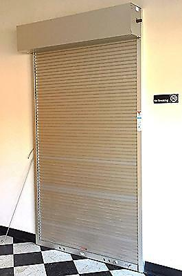 "COOKSON ALUMINUM PUSH UP ROLLUP COIL ROLLING DOOR 51""w x 96""h WATCHVIDEOFREESHIP"