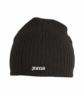 Joma Unisex Knitted Sports Hat Black One Size