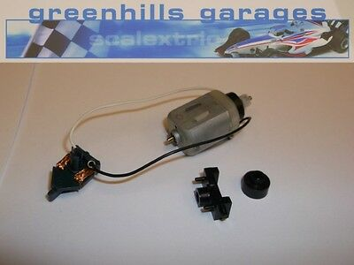 Greenhills Scalextric Ferrari 312T Engine, Extensions, Guide Blade, Clip Used -