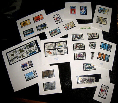 Small Collection Of 1965 - 1966 UK Stamps.