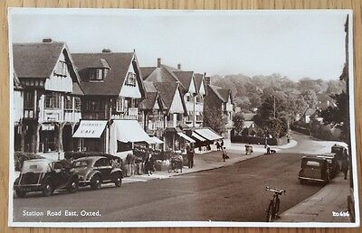 Station Road East, Oxted Surrey Postcard
