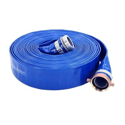 Abbott Rubber PVC Discharge Hose Assembly, Blue