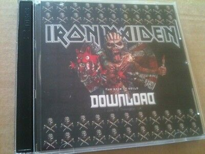 Iron Maiden Double CD Donington UK Download Fest The Book Of Souls Tour 2016