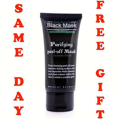 BLACK Purifying Blackhead Remover Peel-Off Facial Cleaning Face MASK 50ml  in UK