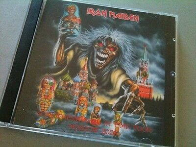 Iron Maiden Double CD Moscow Russia Somewhere Back In Time Tour 2008